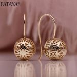 Hollow Spherical Dangle Earrings
