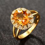 Luxury Fashion Gold-Color Rings