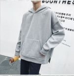 fashion With pure all-match cashmere thickened Hoodie