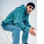 Hip Hop Loose Knitted Hoodie