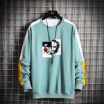 Solid Streetwear Pullover Casual Sweatshirt