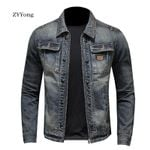 trendy slim comfortable fabric Denim Jackets