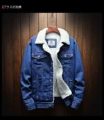 Winter Warm Wool Liner Thicker Denim Jackets