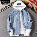Hooded Thick Fleece Liner Denim Jackets