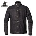 Tactical Army Military Casual Denim Jacket
