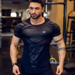 Compression Quick dry Sport Skinny T-shirts
