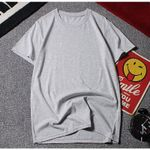 Casual Short Sleeve Cotton O-Neck T-shirts