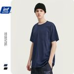 Cotton Solid Causal O-neck Basic t-shirt