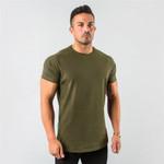 Plain Fitness Short Sleeve Muscle Tshirt