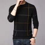 Wool Pullover Basic O Neck Striped Fashion Sweaters