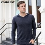 Casual Hooded Crew Neck Thick Warm Sweater