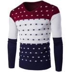 Warm Casual Knitted Pullover Sweaters