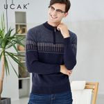 Pure Merino Wool Casual Thick Warm Sweaters