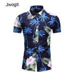 Fashion Button Down Short Sleeve Shirt