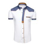 Casual Slim Fit Smart Casual Fashion Short Sleeve Shirts