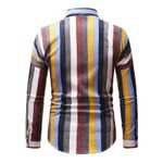 Temperament Stripe Long Sleeve Loose Dress Shirts