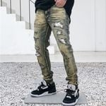 Fashion Runway Luxury famous Brand European Design Jeans