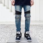 Fashion Luxury Pockets European Design Jeans