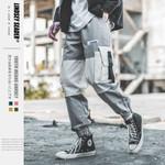 Cargo Hiphop Streetwear Color Block Pant