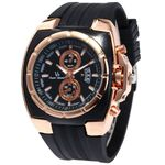 Casual Business Fashion Analog Silicone Strap Watches