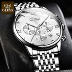 Business Luxury Wateproof Stainless Steel Strap Watch
