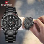 Sport Stainless Steel Fashion Casual Wristwatch