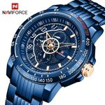 Luxury Brand Stainless Steel Business Casual Wristwatch