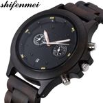 Multi-function Sports Casual Wood Watches