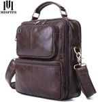 Genuine Cow Leather Multifunctional Casual Handbag