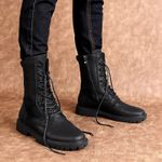 Fashion British Motorcycles Trendy High Quality Boots