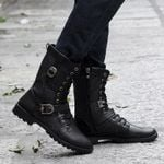 Classic Fashion Motorcycle Stylish Casual Boots