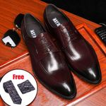 formal genuine leather oxford shoes