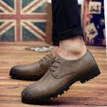 Fashion Luxury Casual Loafers Rubber Oxford Shoes