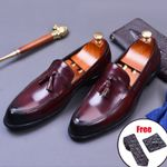 genuine leather luxury Oxford Shoes