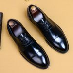 Comfortable Pointed Toe Business Formals Oxfords Shoes