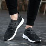 Casual Flats Lightweight Fashion Knitting Breathable Shoes
