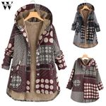 Fashion Warm Fur Hood Boho Bohemian Coats