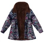 Fleece Fur Hooded Fashion Boho Bohemian Coats