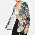 Vintage Floral Print Loose Shawl Bohemian Jacket