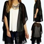 Cover Up Long Sunscreen Boho Bohemian Kimonos