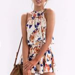 Fashion Sexy Loose Floral Boho Bohemian Rompers