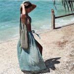 High waist Split Elegant Wrap Boho Bohemian Skirts