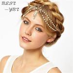 Pearl Gold Crown Chain headband