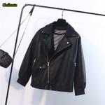 Leather Loose Faux Pu Jacket