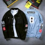 Denim Jackets Men Top Jean Cotton Outerwear