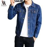 new denim youth jacket hip hop retro jacket