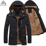 Jacket Thicken Warm fur Hooded Coat Fleece Jackets