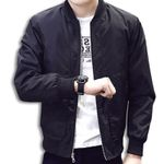 coat Jackets Solid Fashion Coats baseball jacket