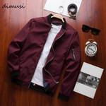 Bomber Zipper Jacket Casual Streetwear Hip Hop Slim Fit Pilot Coat