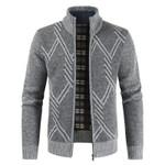 jacket  Coats Solid Thick Fleece Coats
